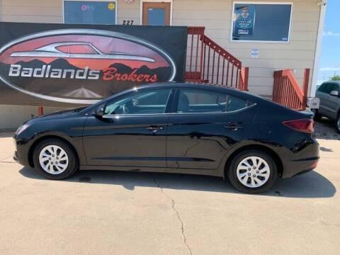 2019 Hyundai Elantra for sale at Badlands Brokers in Rapid City SD