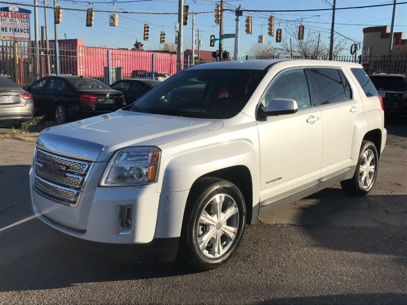 2017 GMC Terrain for sale at SKYLINE AUTO in Detroit MI
