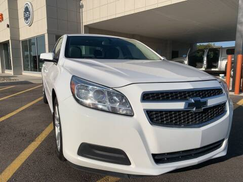 2013 Chevrolet Malibu for sale at Evolution Autos in Whiteland IN