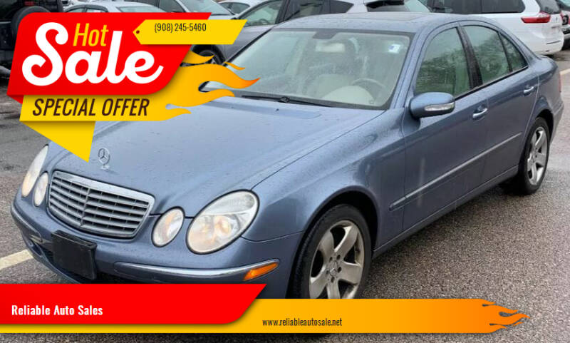 2006 Mercedes-Benz E-Class for sale at Reliable Auto Sales in Roselle NJ