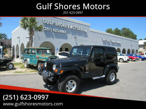 2001 Jeep Wrangler for sale at Gulf Shores Motors in Gulf Shores AL