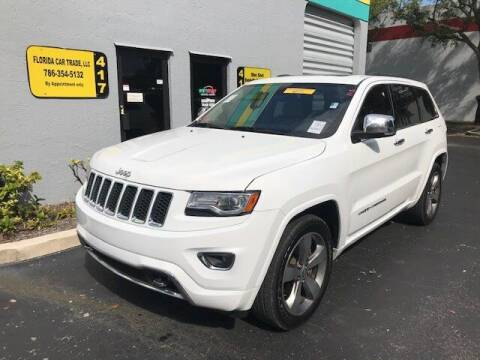 2014 Jeep Grand Cherokee for sale at FLORIDA CAR TRADE LLC in Davie FL