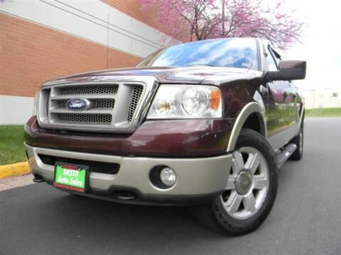 2008 Ford F-150 for sale at Dasto Auto Sales in Manassas VA