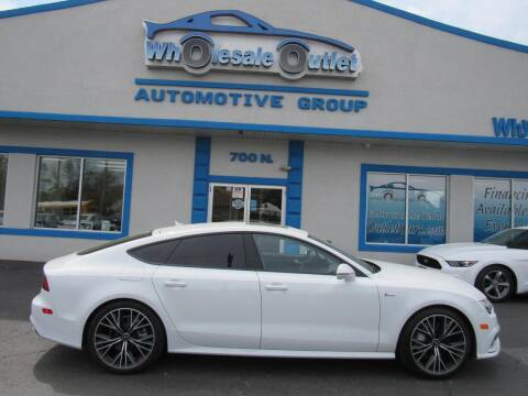 2016 Audi A7 for sale at The Wholesale Outlet in Blackwood NJ