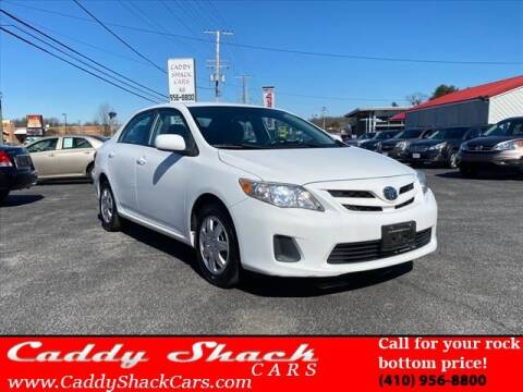 2011 Toyota Corolla for sale at CADDY SHACK CARS in Edgewater MD