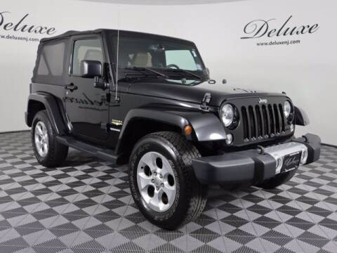 2015 Jeep Wrangler for sale at DeluxeNJ.com in Linden NJ