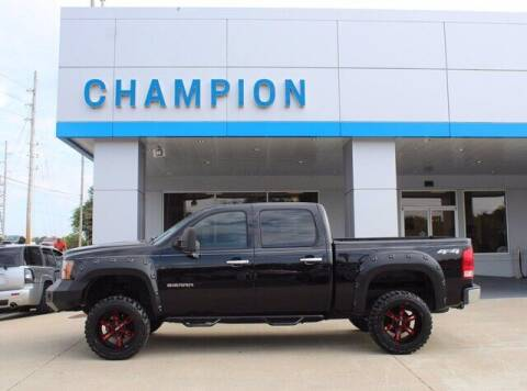 2010 GMC Sierra 1500 for sale at Champion Chevrolet in Athens AL