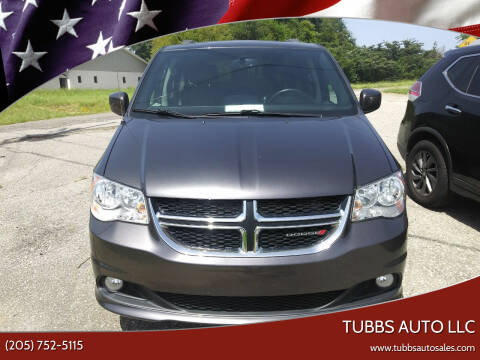 2017 Dodge Grand Caravan for sale at Tubbs Auto LLC in Tuscaloosa AL