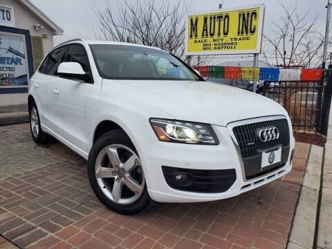 2012 Audi Q5 for sale at M AUTO, INC in Millcreek UT