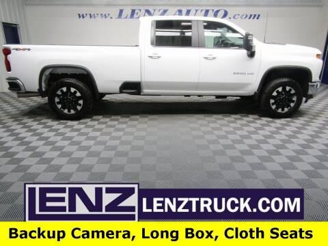 2020 Chevrolet Silverado 2500HD for sale at LENZ TRUCK CENTER in Fond Du Lac WI