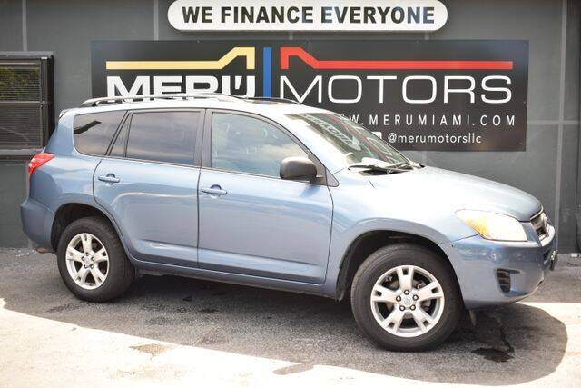 2011 Toyota RAV4 for sale at Meru Motors in Hollywood FL
