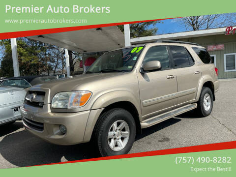 2007 Toyota Sequoia for sale at Premier Auto Brokers in Virginia Beach VA