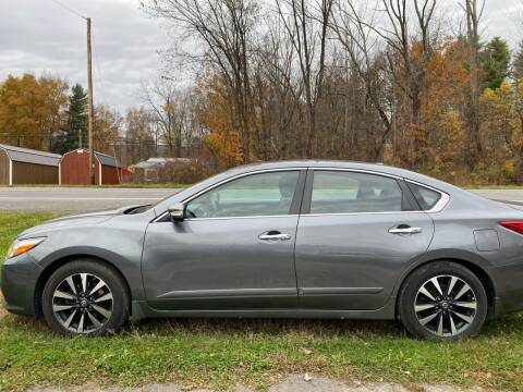 2016 Nissan Altima for sale at D & M Auto Sales & Repairs INC in Kerhonkson NY