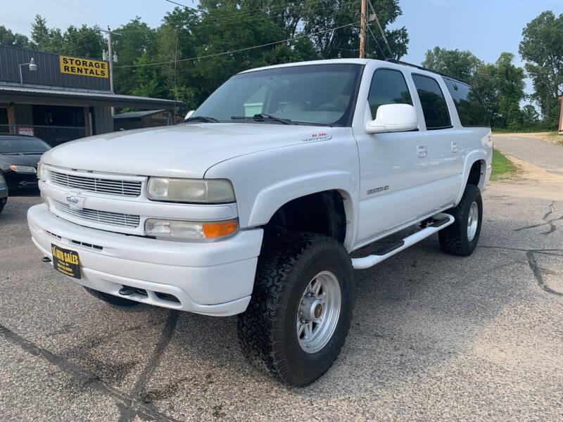 2001 Chevrolet Suburban for sale at 51 Auto Sales Ltd in Portage WI