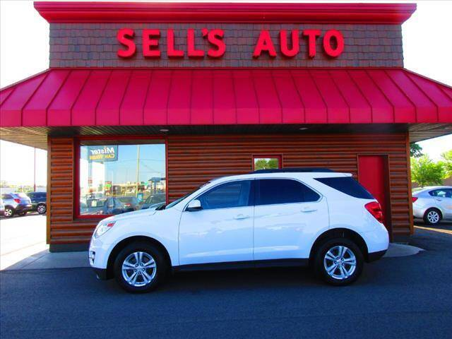 2015 Chevrolet Equinox for sale at Sells Auto INC in Saint Cloud MN