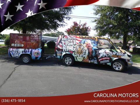 2005 Chevrolet Astro Cargo for sale at CAROLINA MOTORS in Thomasville NC