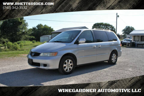 2004 Honda Odyssey for sale at WINEGARDNER AUTOMOTIVE LLC in New Lexington OH