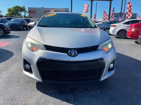 2016 Toyota Corolla for sale at MACHADO AUTO SALES in Miami FL