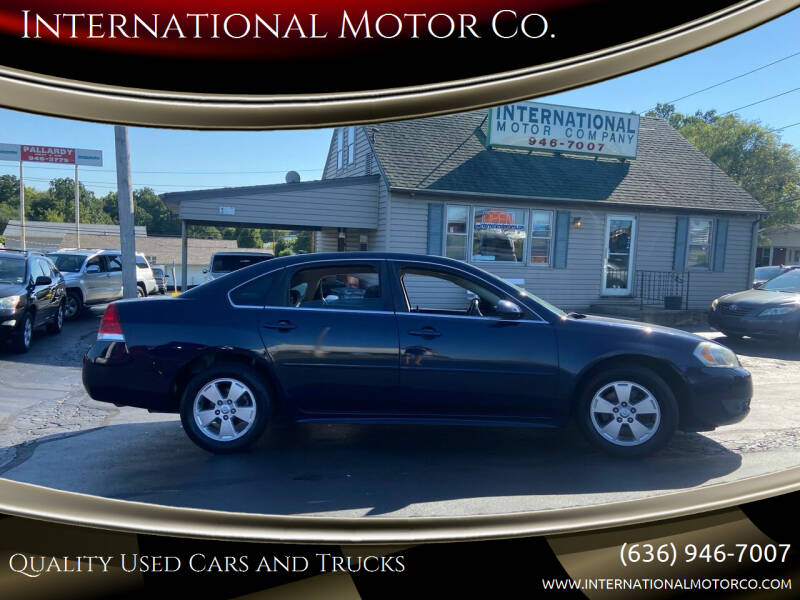 2010 Chevrolet Impala for sale at International Motor Co. in Saint Charles MO