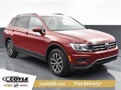 2019 Volkswagen Tiguan for sale at COYLE GM - COYLE NISSAN - New Inventory in Clarksville IN