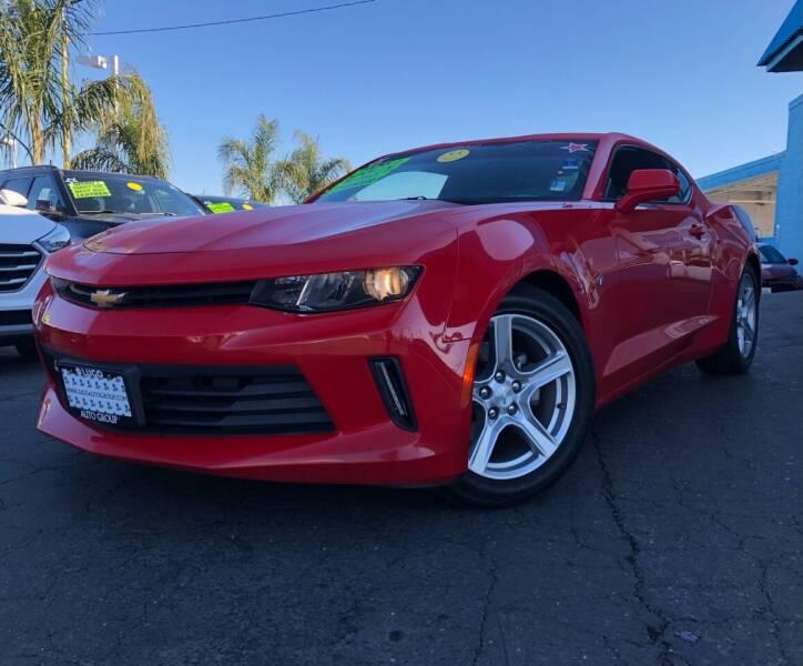 2018 Chevrolet Camaro for sale at LUGO AUTO GROUP in Sacramento CA
