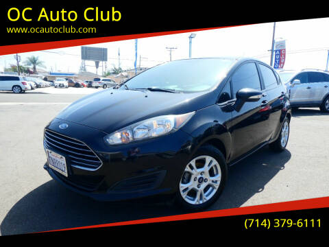 2016 Ford Fiesta for sale at OC Auto Club in Midway City CA
