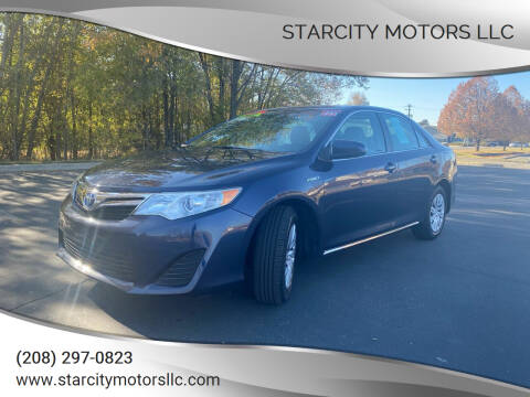 2014 Toyota Camry Hybrid for sale at StarCity Motors LLC in Garden City ID