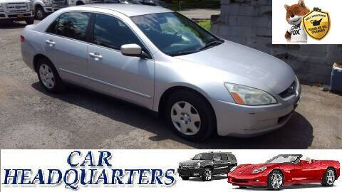 2005 Honda Accord for sale at CAR  HEADQUARTERS in New Windsor NY