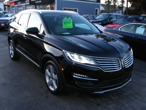 2017 Lincoln MKC for sale at CLASSIC MOTOR CARS in West Allis WI