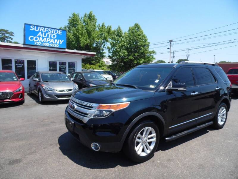 2014 Ford Explorer for sale at Surfside Auto Company in Norfolk VA