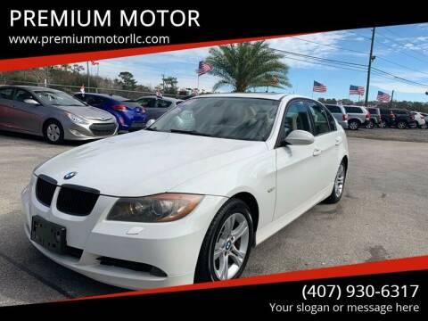 2008 BMW 3 Series for sale at PREMIUM MOTOR in Orlando FL