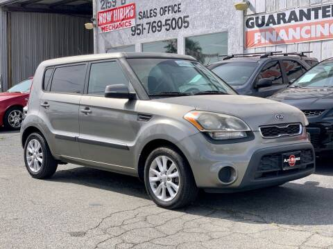 2012 Kia Soul for sale at Auto Source in Banning CA