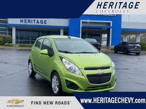2014 Chevrolet Spark for sale at HERITAGE CHEVROLET INC in Creek MI