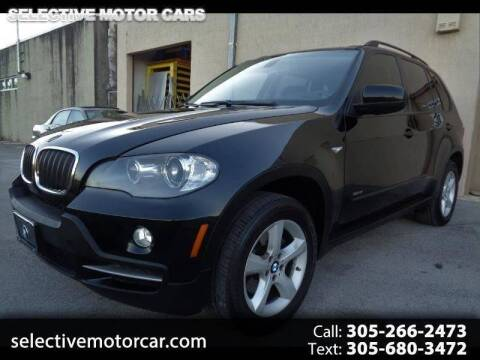2007 BMW X5 for sale at Selective Motor Cars in Miami FL