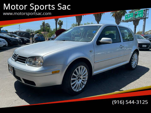 2005 Volkswagen GTI for sale at Motor Sports Sac in Sacramento CA