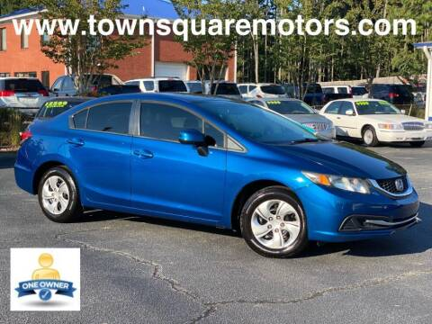 2013 Honda Civic for sale at Town Square Motors in Lawrenceville GA
