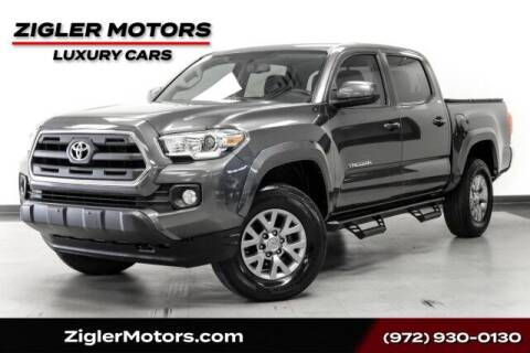 2017 Toyota Tacoma for sale at Zigler Motors in Addison TX