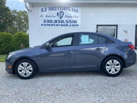 2014 Chevrolet Cruze for sale at EZ Motors in Deerfield OH