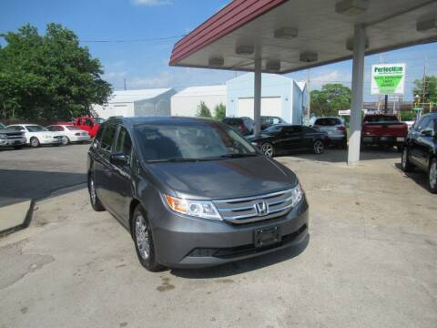 2012 Honda Odyssey for sale at Perfection Auto Detailing & Wheels in Bloomington IL