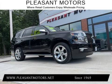 2019 Chevrolet Tahoe for sale at Pleasant Motors in New Bedford MA