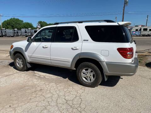 2003 Toyota Sequoia for sale at WF AUTOMALL in Wichita Falls TX