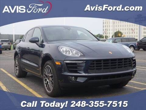 2018 Porsche Macan for sale at Work With Me Dave in Southfield MI