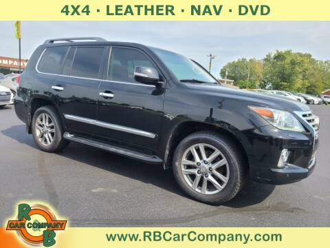 2015 Lexus LX 570 for sale at R & B Car Co in Warsaw IN