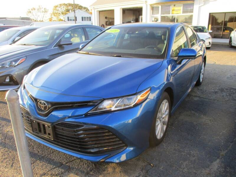 2019 Toyota Camry for sale at AUTO FACTORY INC in East Providence RI