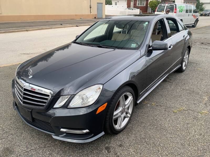 2013 Mercedes-Benz E-Class for sale at Jerusalem Auto Inc in North Merrick NY