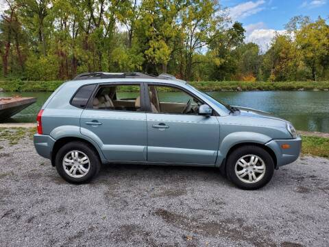 2007 Hyundai Tucson for sale at Auto Link Inc in Spencerport NY