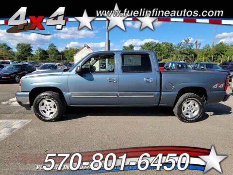 2006 Chevrolet Silverado 1500 for sale at FUELIN FINE AUTO SALES INC in Saylorsburg PA