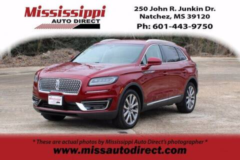 2019 Lincoln Nautilus for sale at Auto Group South - Mississippi Auto Direct in Natchez MS