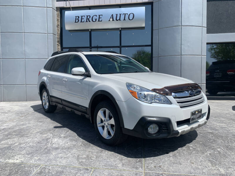 2014 Subaru Outback for sale at Berge Auto in Orem UT