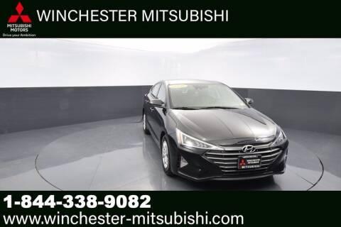 2020 Hyundai Elantra for sale at Winchester Mitsubishi in Winchester VA